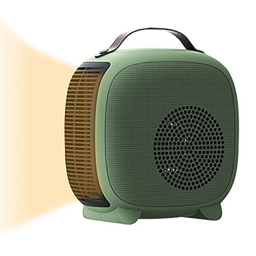 2200W Calefactor con Ventilador Eléctrico Mini Calefactor Portatil Fast Heater, Termostato Y Corte De Seguridad, Termoventilador Portátil Mini Calentador Personal para El Hogar Y La Oficina