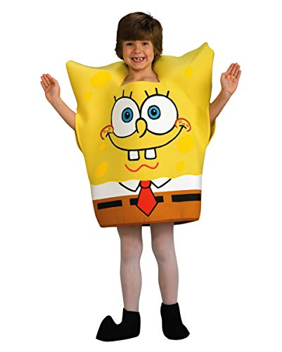 Horror-Shop Original Spongebob Schwammkopf Kinderkostüm S