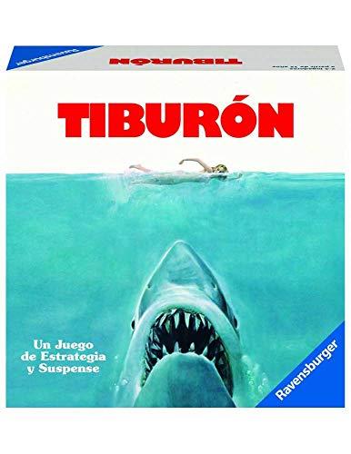 Ravensburger Tiburón, Juego de mesa, Versión Española, 2-4 Jugadores, Edad recomendada 12+ (26830)