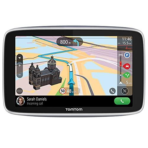 TomTom Navigatore Satellitare per Auto GO Premium 5 Traffico, Tutor e Autovelox, Mappe Mondo, Aggiornamenti Tramite...