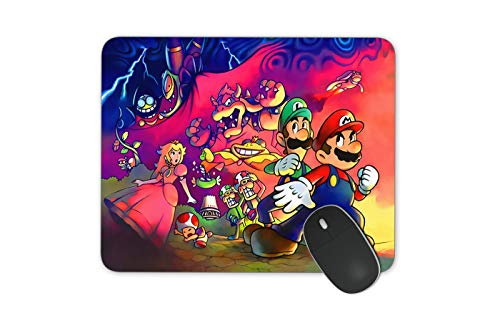 JNKPOAI Cute Super Mario Print Mouse Pad Personalized Design of Office Game Mouse Pad Cartoon Mouse Pad with Clear Design (Super Mario#1)