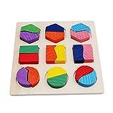 unknow Liangwan - Tabla divisoria de tablero de rompecabezas de juguete educativo universal juguetes educativos portátiles para niños, colorido + original