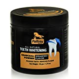 Palfrey Activated Charcoal Natural Teeth Whitening Powder for Brighter Teeth (Spearmint Flavor)