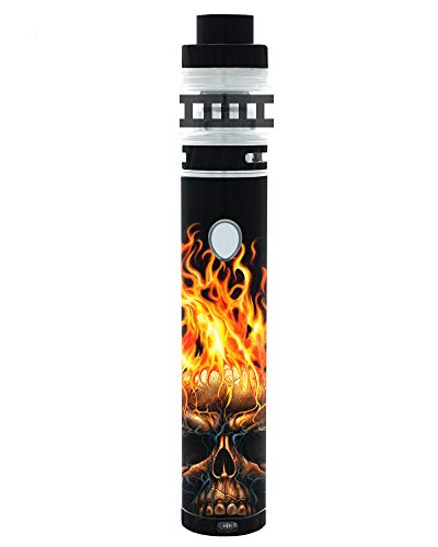 Decal Kid Skin for Freemax Twister - Skull Flame   Protective, Durable, Unique Vinyl Decal wrap Cover   Easy to Apply, Remove, and Change Styles and Change Styles