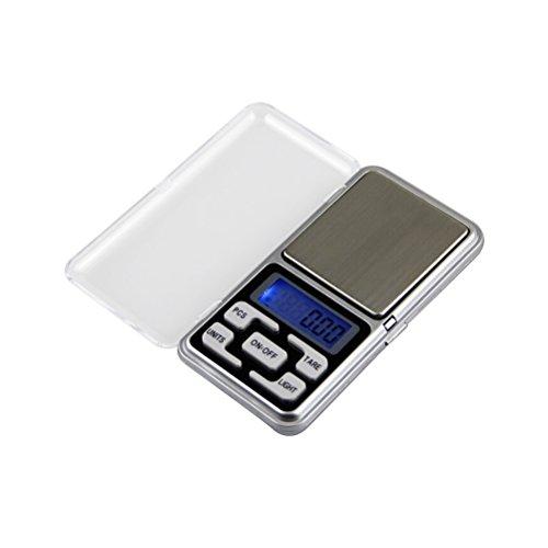 UEETEK 200g Edelstahl Digital Mini Waage Taschenwaage 0.01g für Jewlery Coins
