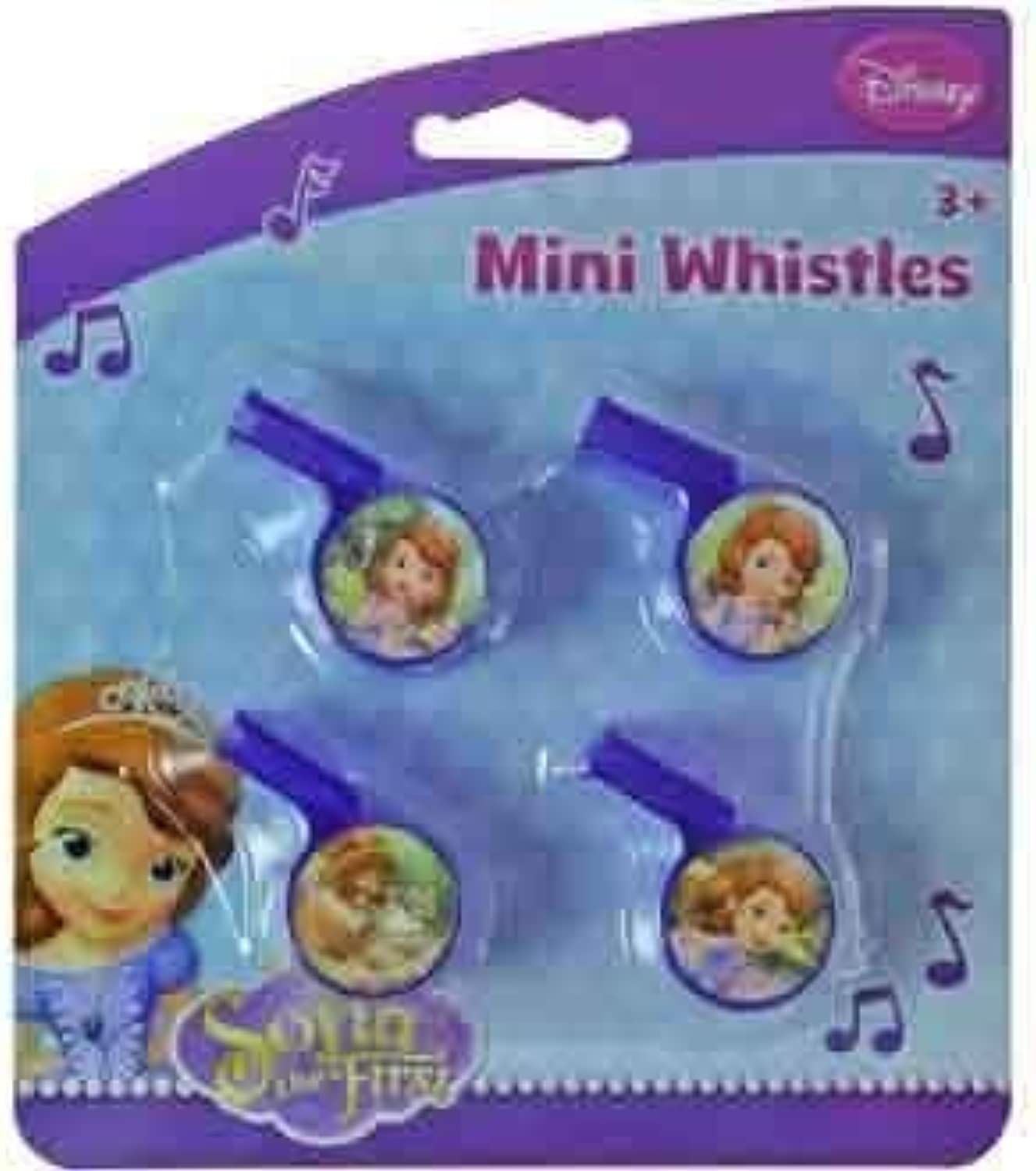 Sofia The First Mini Whistle 4 Pk [7 Retail Unit(s) Pack] - 27807SOF