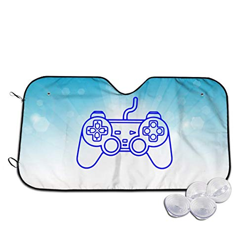 Playstation Controller Sun Shade Protect Car from Sun Heat & Glare Heat Resistance Best UV Ray Visor Protector
