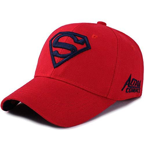 PPSTYLE Unisex Verwenden Baumwolle Frühling Sommer Freizeit Cap Superhelden Cap Baseball Cap Snapback Hip Hop Visier Cap Hat-1