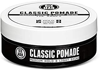CLASSIC POMADE - THE ANNEX - Medium Hold with Light Shine - Hair Pomade, Styling Gel, Doesn't Flake, Water-based, Washes out Easily - 90 grams