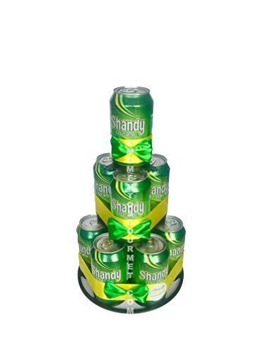 Regalo Gourmet. Tarta de latas de cerveza Shandy