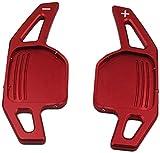 LLZYZJ Estensione Volante for Auto Spostamento Paddle Auto Shifter Adatto for A3 A4 A4L A5 A6 A7 A8 Q3 Q5 Q7 TT S3 R8 Rosso Car Styling Accessori Auto (Color : Red)