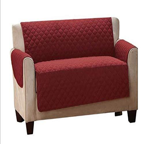 KX-YF Sofá Cojín Reversible Muebles Sofá Protector del Protector de la Cubierta del Protector Throw Muebles Resistente al Agua Fundas sofá (Color : Red, Size : 226cm)