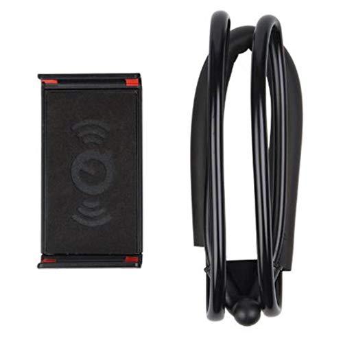 JIE Soporte para teléfono con Cuello Perezoso Soporte de Montaje Perezoso para Tableta giratoria Flexible de 360 Grados Negro