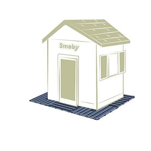 Smoby Casette Set di 6 pannelli 45 x 45 cm per pavimento casette 2 anni 7600810907