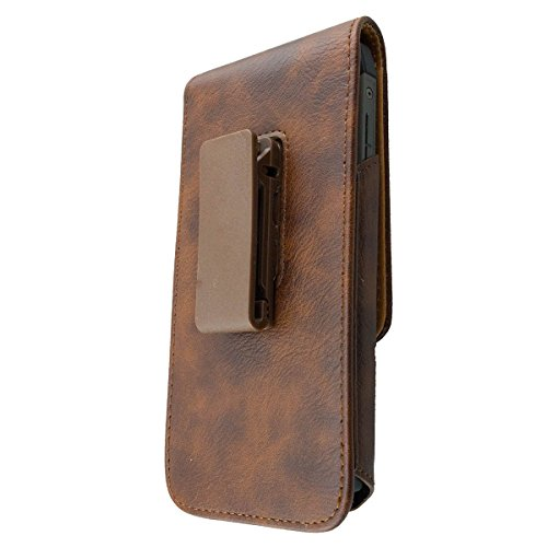 caseroxx Handy Tasche Outdoor Tasche für Cat S41, mit drehbarem Gürtelclip in braun