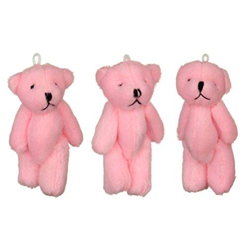 NEW mignon petit ours Rose X 9–cadeau d'anniversaire, cadeau de Noël