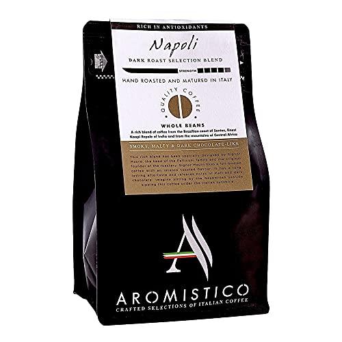 AROMISTICO   Rich Strong Gourmet Dark Roast   Premium Italian Roasted Whole...