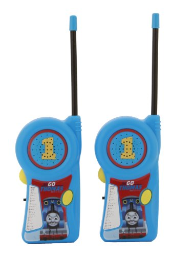Walkie Talkie 11085 Thomas & Friends for Kids Flexible Saftey Antenna and Morse Code with On/Off Switch, HIGH, Stylish Appearance, Lovely and Fashion, 2 Pieces, Blue