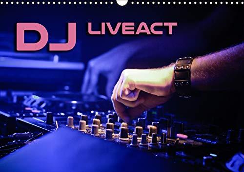 DJ Liveact (Wandkalender 2021 DIN A3 quer)