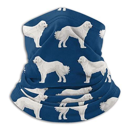 Xian Shiy Great Pyrenees Cute Dogs Fleece Neck Warmer - Wendehals-Gamasche, Vielseitigkeit Ohrwärmer Stirnband für Männer und Frauen