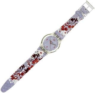 Swatch Women's Wrist Watch GEisha Tree SUJK126 with Plastic Strap