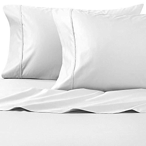 Wamsutta 625-Thread Count PimaCott Queen Sheet Set in White