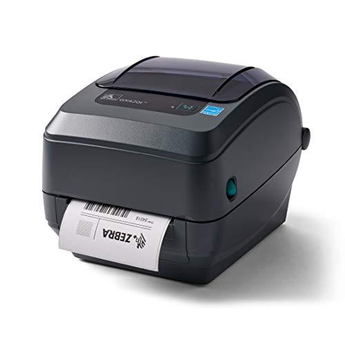 Zebra GX420t Impresora de Transferencia térmica para Etiquetas, Recibos, códigos de Barras,...