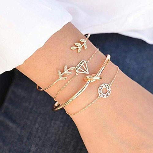Casadeiy Mode Mädchen Herz Armband Dame Kette Frauen Schmuck Geschenke