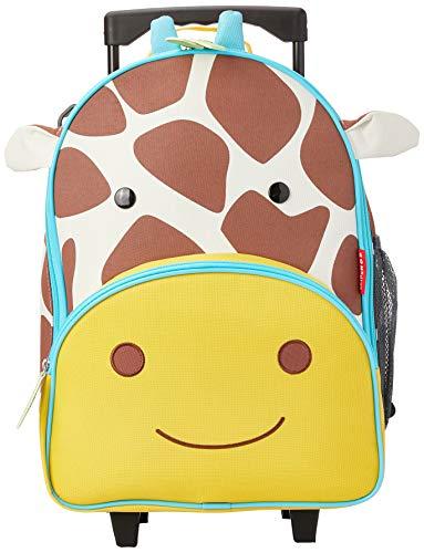 Skip Hop Kids Luggage with Wheels, Zoo, Giraffe