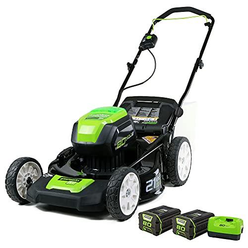 Greenworks Pro 80V 21 inch Cordless Push...