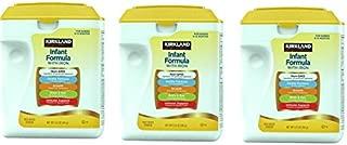 Kirkland Signature aQGYse Non-GMO infant formula, 2.13 Pound (3 Pack)