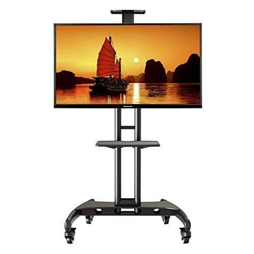 """NB AVA1500-60-1P - Soporte móvil de suelo para pantallas LCD, LED , Plasma y curvadas de 32"""" a 65"""" y hasta 45.5 kg"""