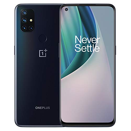 OnePlus Nord N10 5G, Global/EU Version, 6GB RAM, 128GB Storage, 90Hz Refresh Rate FHD+ Display, GSM Unlocked (Work with T-Mobile, AT&T, Metro etc.) Great Budget Android Smartphones for Daily Use.