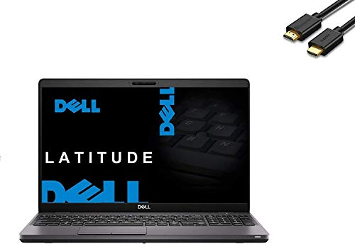 Dell Latitude 5000 5500 15.6' Full HD FHD (1920x1080) Business Laptop (Intel Quad-Core i7-8665U, 64GB RAM, 2TB PCIe SSD) Backlit, Fingeprint, Type-C, Webcam, Windows 10 Pro + IST HDMI Cable (Renewed)