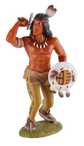 Bullyland 80676 - Spielfigur, Krieger, ca. 9 cm
