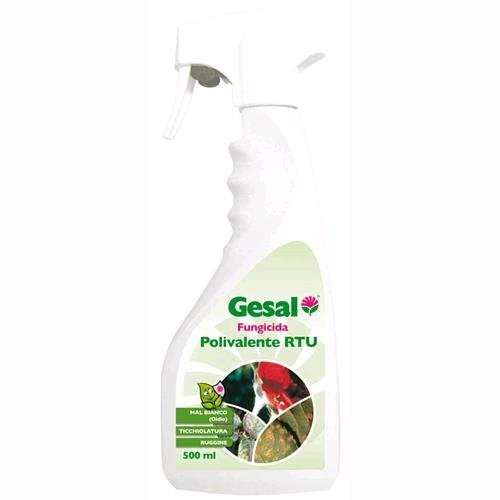GESAL 2648402005 Fungicida per Piante, 500 ml, Trasparente, 5.5x10x26 cm