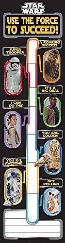 Eureka Star Wars Goal Setting Fundraising Banner Classroom Poster, 12'' x 45''