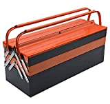 Harden Professional 5 Draw Metal Hip Roof Tools Box - Electro-Powder Coating, Cold