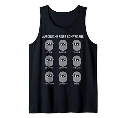 Ausdrücke Eines Schweißers T-Shirt Tank Top