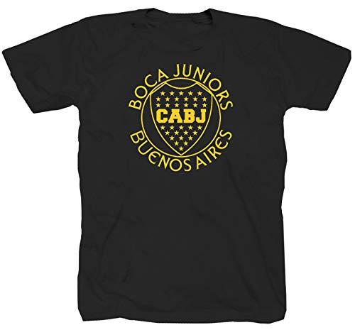 Boca Juniors Jugador schwarz T-Shirt (L)