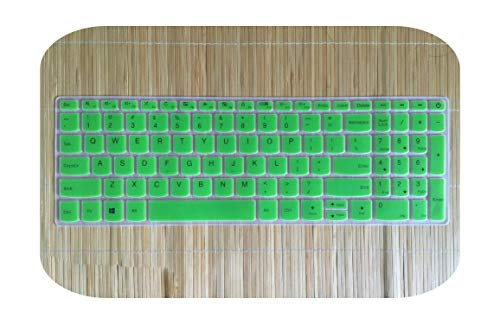 "Funda para teclado para portátil Lenovo Ideapad 720s 15 720S-15IKBR 330 330-15ikb 330-15igm 330-15ast 330-15ich 330-15ikbr 15.6"" verde-"