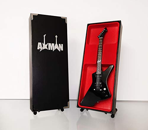 James Hetfield (Metallica) Replica di chitarra in miniatura, ESP Black Snakebyte