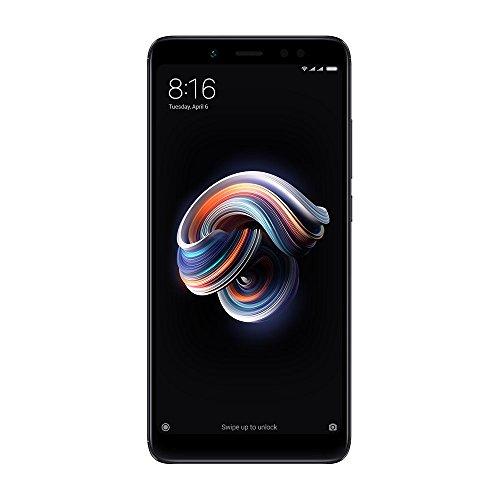 "Xiaomi Redmi Note 5 32GB Black, Dual Sim, 5.99"" Display, 3GB Ram, GSM Unlocked Global Version, No Warranty"