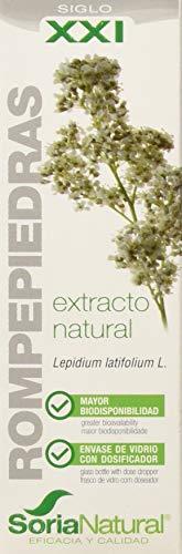 Extracto natural de Lepidium latifolium L. en glicerina vegetal Consejo de uso para adultos; se aconseja la toma del A.D.E. 1 mL 3 veces al día diluido en agua fácil de usar Rompepiedras extracto 50 ml