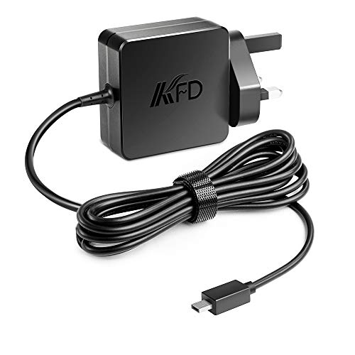 KFD 33W Portable Charger for Asus Eeebook X205 X205T X205TA F205TA E200H E200HA E202SA E205SA E202S, ASUS Transformer Book Flip TP200S TP200SA T100HA Notebook Adapter 19V 1.75A ADP-33AW AD890526