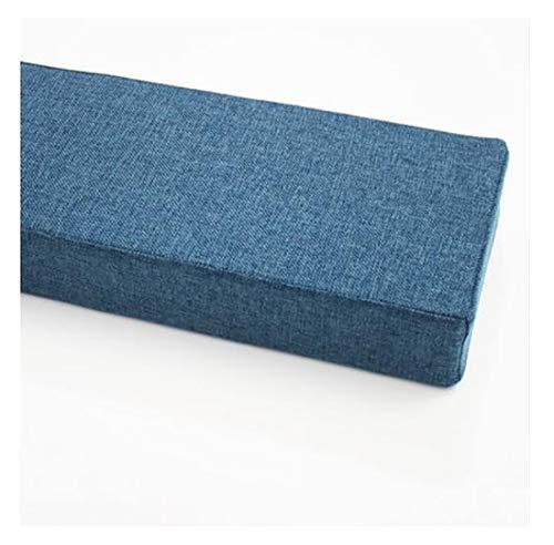 GERYUXA Cojín para Banco Exterior Cojines para sofás, Cojines para sillón, cómodo cojín Largo -T11 120x10x8cm