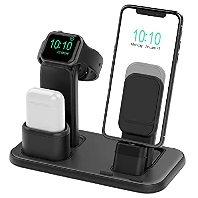 Beacoo Upgraded 3 in 1 Charging Stand for iWatc...