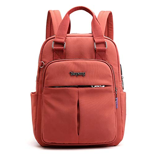 Backpack Anti-Theft USB Charging Nylon Backpack Waterproof Women's School Backpack Schoolbag Girl Travel Bag