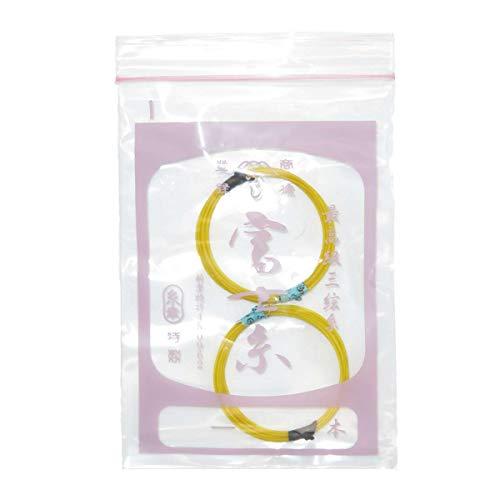 三味線用一の糸 絹糸 富士糸(15−1)2本セット