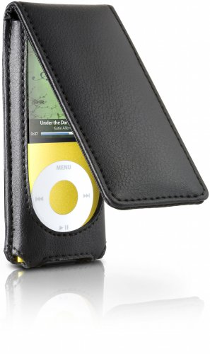 Digital Lifestyle Outfitters HipCase Leather Folio for iPod nano 4G